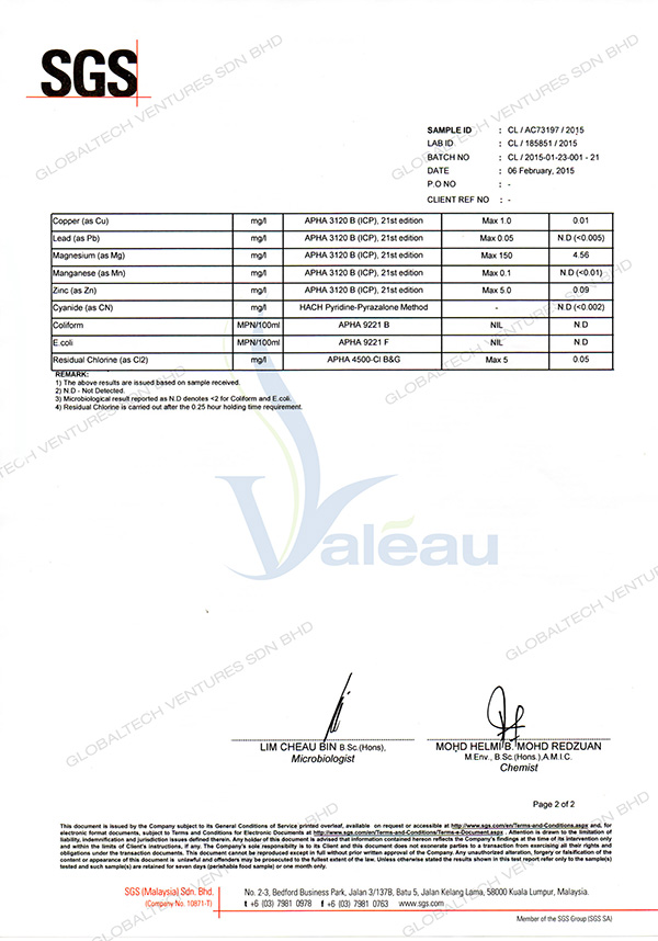 globaltech-valea-alcali-mineral-activateur-test-report-SGS-alter2