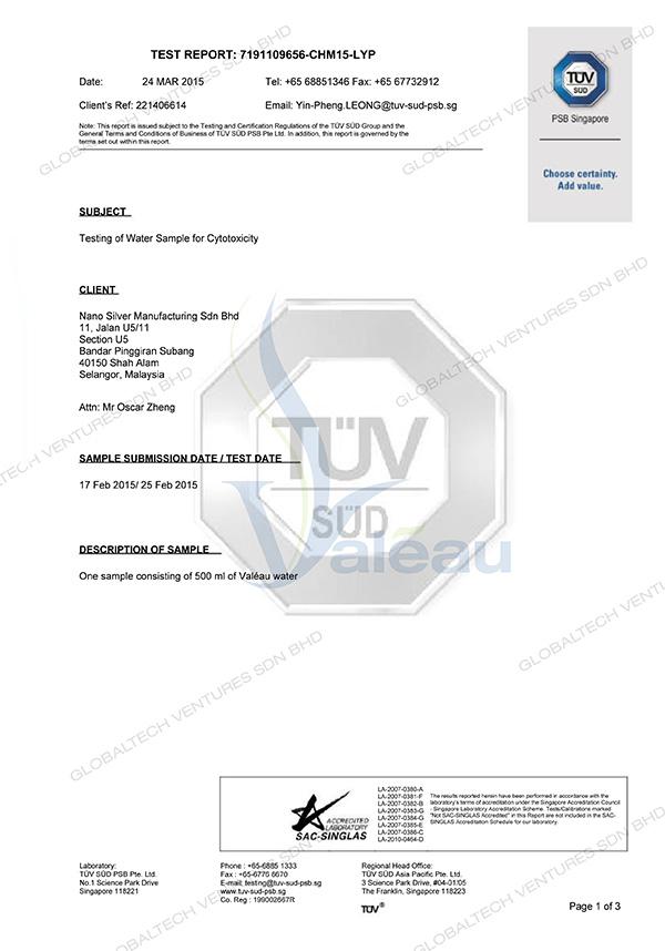 globaltech-valea-alcali-mineral-activateur-test-report-tuv-sud-1